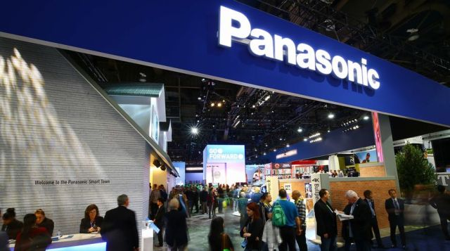 Panasonic at a trade show