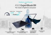 ASUS ExpertBook B9 (B9400) laptop