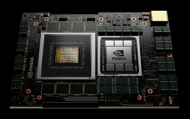 NVIDIA data center CPU Grace