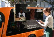 Udelv delivery vans