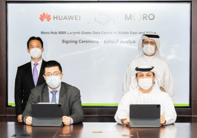Moro Hub to build green data centre with Huawei