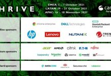Sponsors at Canalys Channels Forums 2021