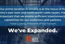 1623 Farnam edge data center in Omaha, Nebraska
