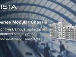 Arista Networks 750 series modular chassis