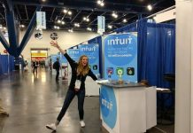 Intuit at an IT event