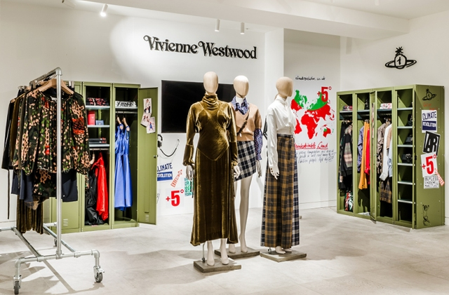 Vivienne Westwood retail and IT investment