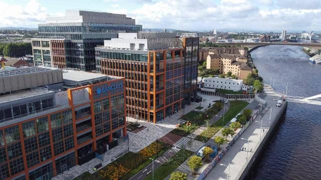 Barclays campus in Tradeston, Glasgow
