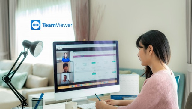 TeamVieweruser from working from home