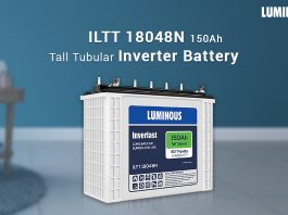 luminous Battery 150 Ah - ILTT18000N